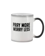 PRAY MORE Color Changing Mug thumbnail