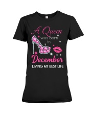 December Gift for Birthday Girl Premium Fit Ladies Tee thumbnail