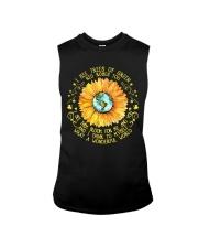 Sunflower hippie Girl Sleeveless Tee thumbnail