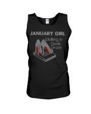 January Gift for Birthday Girl Unisex Tank thumbnail