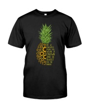 Pineapple sunflower Classic T-Shirt front