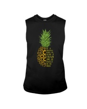 Pineapple sunflower Sleeveless Tee thumbnail