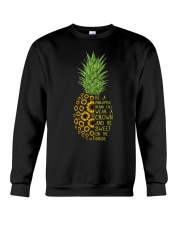 Pineapple sunflower Crewneck Sweatshirt thumbnail