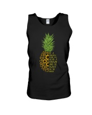 Pineapple sunflower Unisex Tank thumbnail