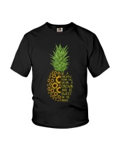Pineapple sunflower Youth T-Shirt thumbnail