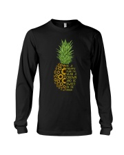 Pineapple sunflower Long Sleeve Tee thumbnail