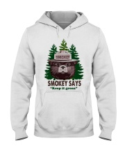 Keep it green Hooded Sweatshirt thumbnail