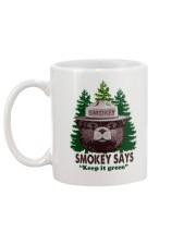 Keep it green Mug back