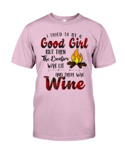 Good Girl Wine Classic T-Shirt front