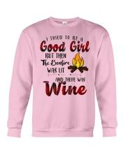 Good Girl Wine Crewneck Sweatshirt thumbnail