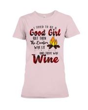 Good Girl Wine Premium Fit Ladies Tee thumbnail