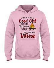 Good Girl Wine Hooded Sweatshirt thumbnail