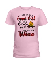 Good Girl Wine Ladies T-Shirt thumbnail