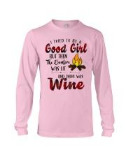 Good Girl Wine Long Sleeve Tee thumbnail