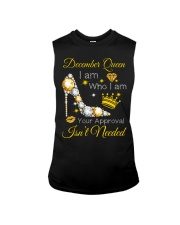 December Gift for Birthday Girl Sleeveless Tee thumbnail