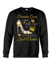 December Gift for Birthday Girl Crewneck Sweatshirt thumbnail