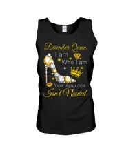 December Gift for Birthday Girl Unisex Tank thumbnail