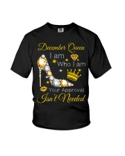 December Gift for Birthday Girl Youth T-Shirt thumbnail