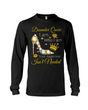 December Gift for Birthday Girl Long Sleeve Tee thumbnail