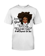 January Gift for Birthday Girl Classic T-Shirt front