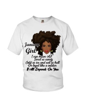 January Gift for Birthday Girl Youth T-Shirt thumbnail
