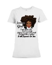 January Gift for Birthday Girl Premium Fit Ladies Tee thumbnail