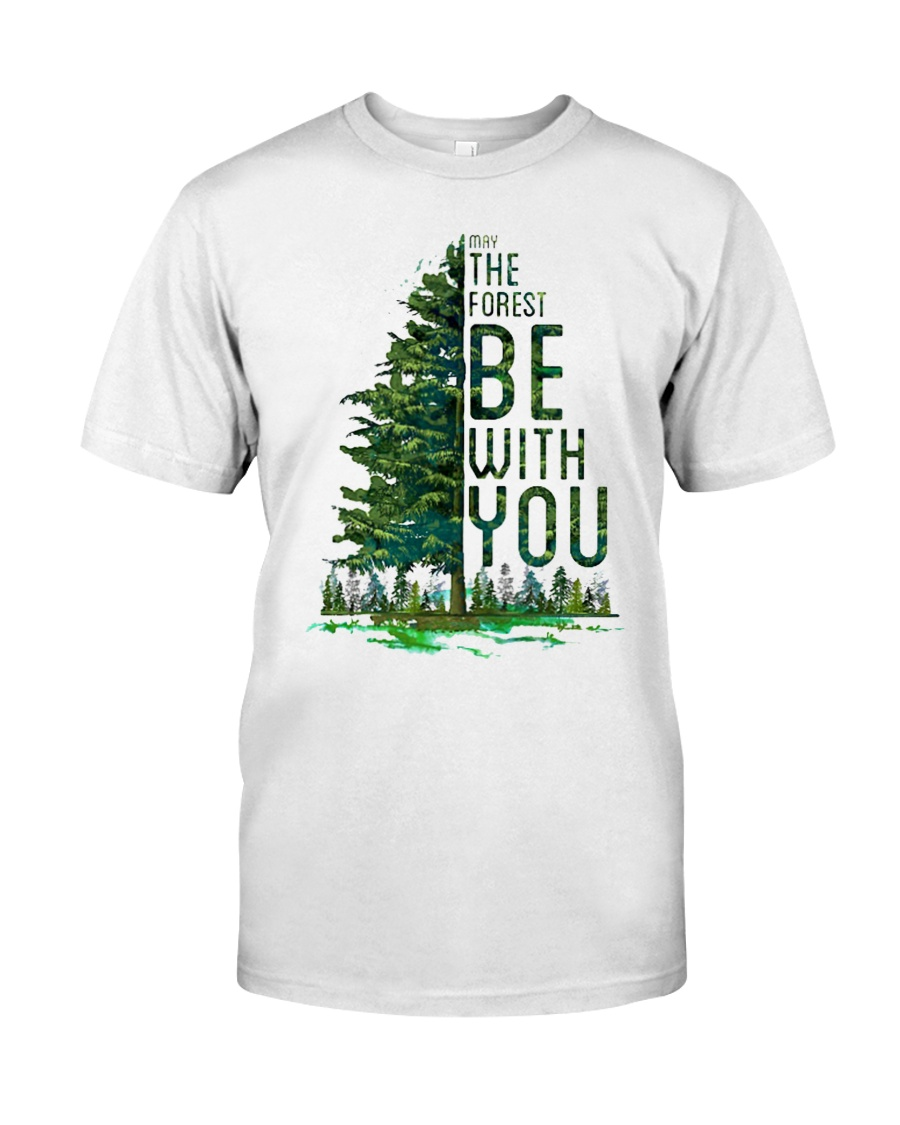 Forest be with you Classic T-Shirt
