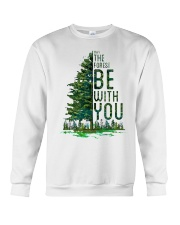 Forest be with you Crewneck Sweatshirt thumbnail