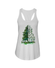 Forest be with you Ladies Flowy Tank thumbnail