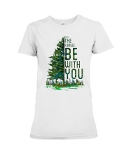 Forest be with you Premium Fit Ladies Tee thumbnail