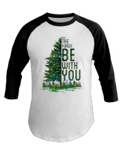 Forest be with you Baseball Tee thumbnail