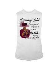 January Gift for Birthday Girl Sleeveless Tee thumbnail