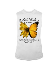 Sunflower Butterfly Sleeveless Tee thumbnail