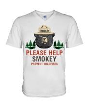 Smokey V-Neck T-Shirt thumbnail