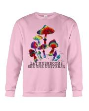 Mushrooms see the universr Crewneck Sweatshirt thumbnail