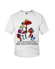 Mushrooms see the universr Youth T-Shirt thumbnail