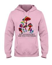 Mushrooms see the universr Hooded Sweatshirt thumbnail