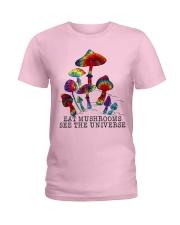 Mushrooms see the universr Ladies T-Shirt thumbnail