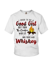 Good Girl Whiskey Youth T-Shirt thumbnail