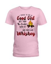 Good Girl Whiskey Ladies T-Shirt thumbnail