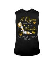 November Gift for Birthday Girl Sleeveless Tee thumbnail