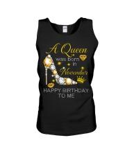 November Gift for Birthday Girl Unisex Tank thumbnail