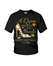 November Gift for Birthday Girl Youth T-Shirt thumbnail