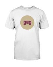 geo shirt Classic T-Shirt front