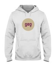 geo shirt Hooded Sweatshirt thumbnail