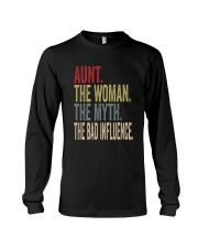 aunt the woman the myth the bad influence Long Sleeve Tee thumbnail