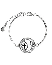 Your talent is God's gift to you Metallic Circle Bracelet thumbnail