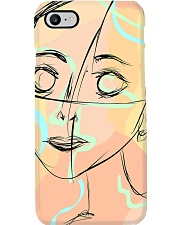 markings doodle girl Phone Case thumbnail