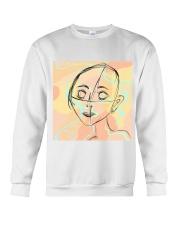 markings doodle girl Crewneck Sweatshirt thumbnail