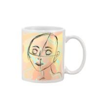 markings doodle girl Mug thumbnail